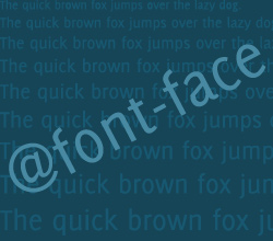 The Simple Switch to @Font-Face and a Brief History of Fonts on the Web